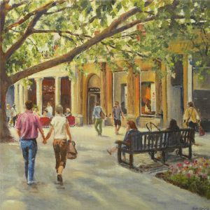 Strolling on the Prom by Christine Smith