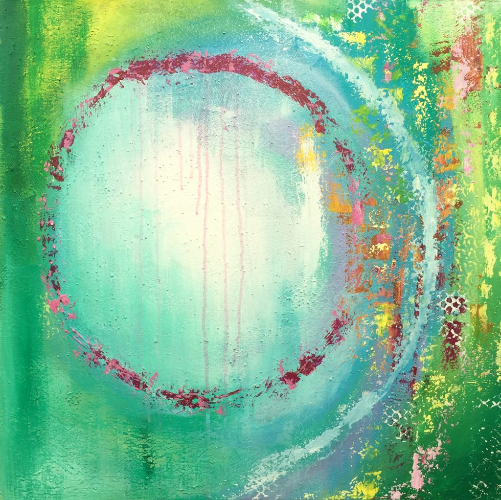 Sue Alat Abstract Artist February 2018