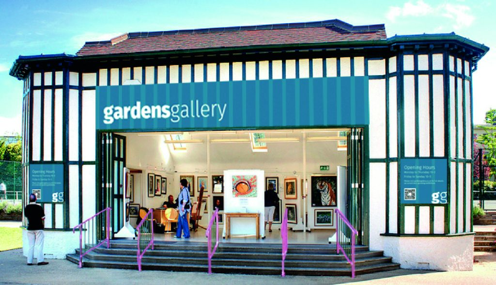 Gardens Gallery New Signage Mock Up