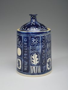 Annie Hewett Winter Laurie Lee jar