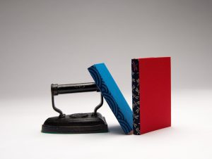 Ursula Jeakins - Notebooks with disappearing spine bindings using Japanese fabrics