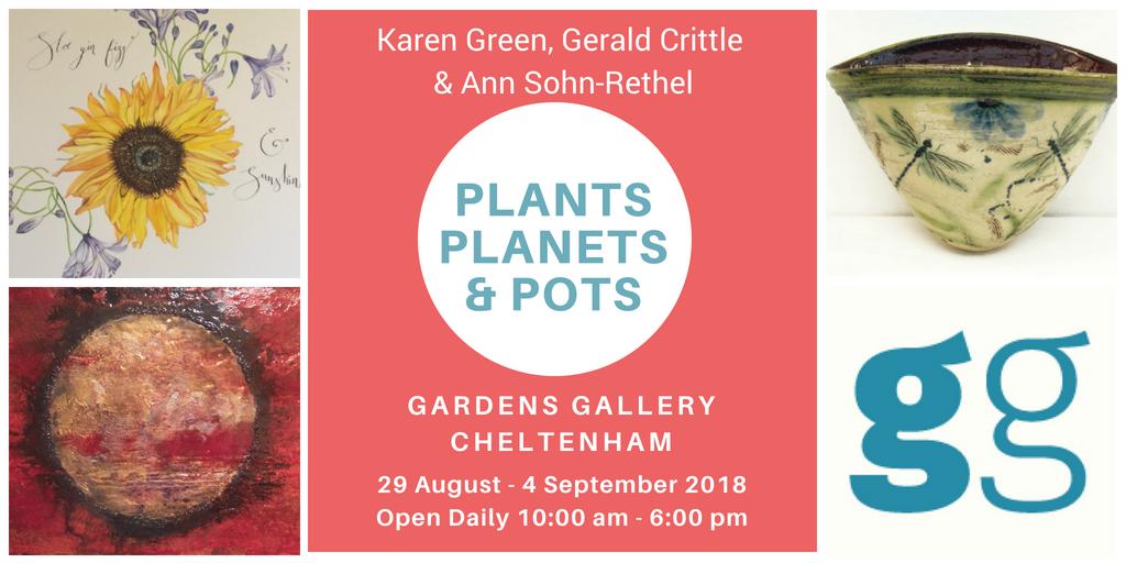 Plants Planets & Pots Poster