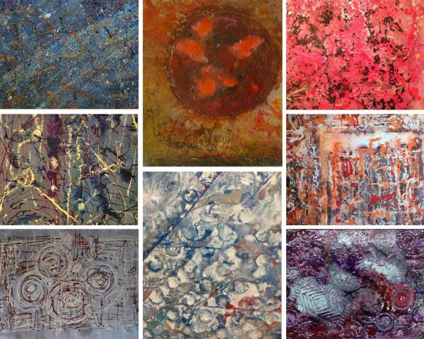 Gerald Crittle Abstract Art