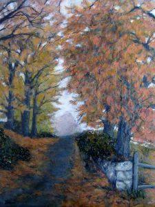 Dawn The Lane in Autumn